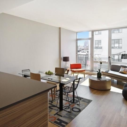 Livingroom - Windows On 123 NYC Condos - 117 West 123rd Street - Harlem
