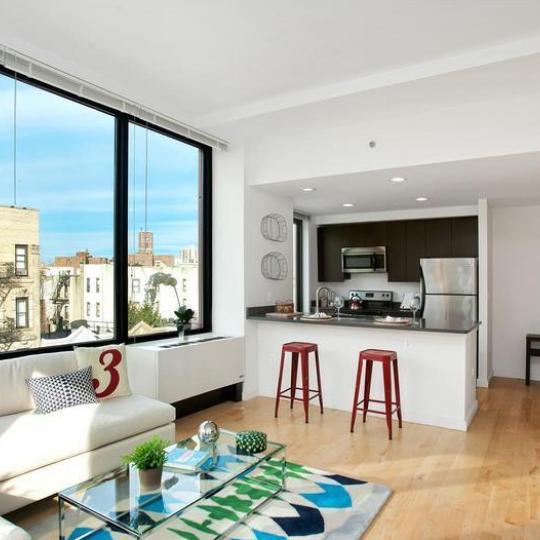 Living Room - 1595 Lexington Avenue - Condos - Harlem