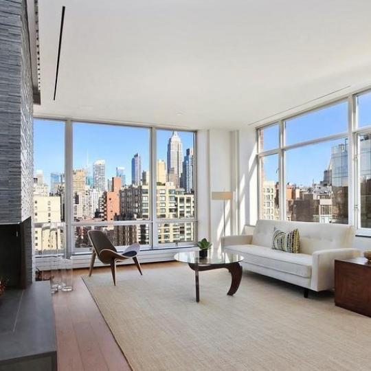Livingroom at 201 West 17th Street