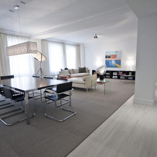 150 East 72nd Street Buidling -living room- Condos for Sale in NYC