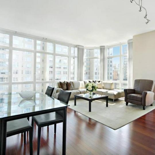 Living Room at The Milan Street - NYC Apartments for Sale