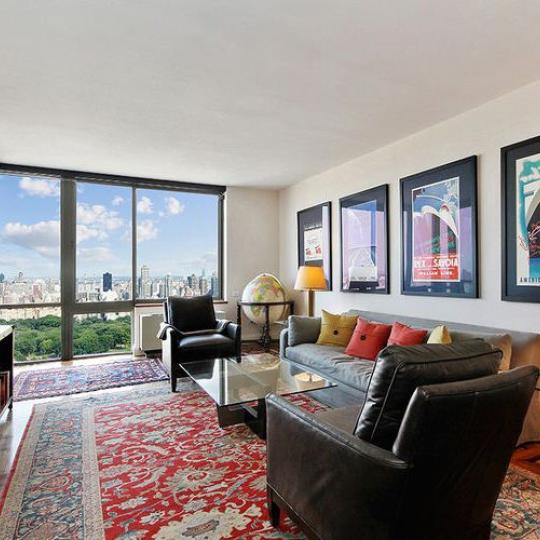 Livingroom - Millennium Tower- NYC apartments for Sale