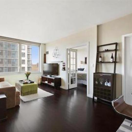 Livingroom at 306 Gold Street Building - Brooklyn Condos for Sale