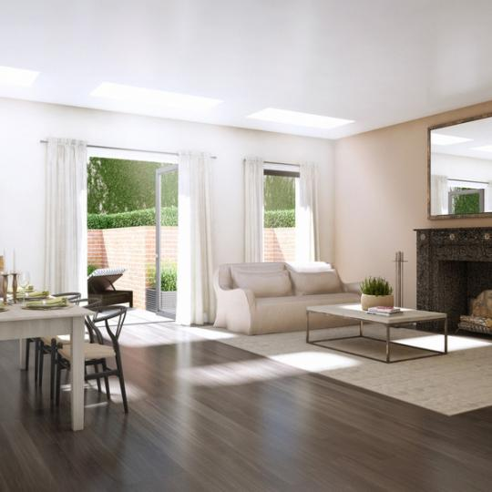 910 Union Street Livingroom - NYC Condos for Sale