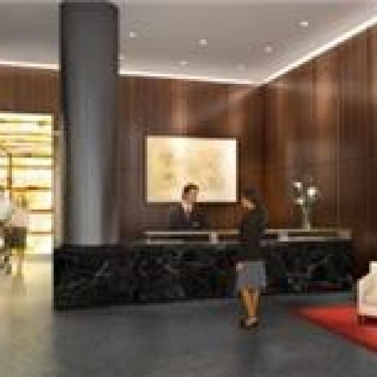Millennium Towers Residences Lobby - Battery Park City NYC Condominiums