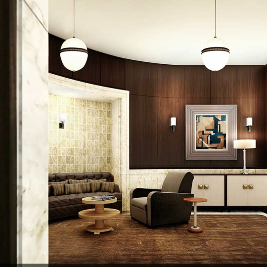Lobby- 150 West 12th Street apartment-Condos for sale in  Greenwich Village