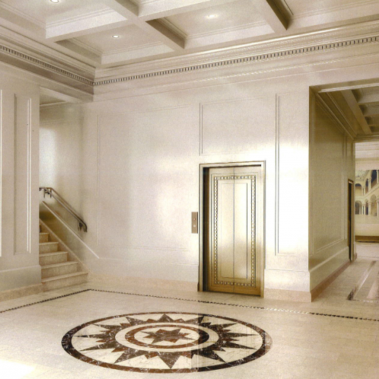Lobby at 150E72 - Upper East Side Condominiums for Sale
