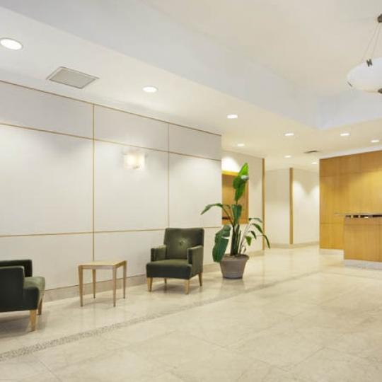 The Building's lobby at 250 East 30th Street