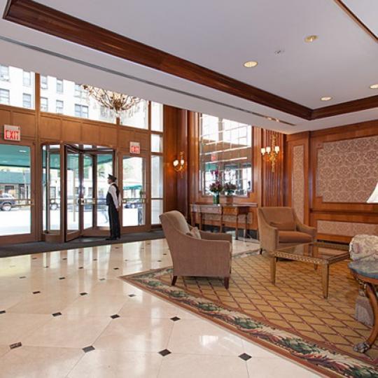 The Buliding's lobby in The Knickerbocker