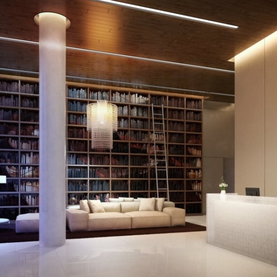 5 Franklin Place Lobby - Tribeca NYC Condos for Sale