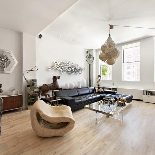 Loft 25 livingroom - 420 West 25th Street Condos for Sale