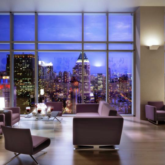 The Sheffield Lounge - Midtown West NYC Condominiums