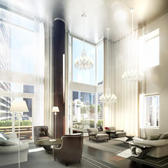 Lounge - The Baccarat Hotel and Residences - Midtown West New York