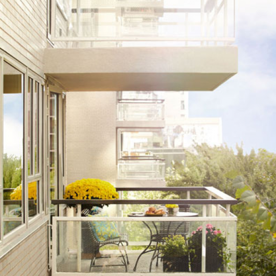 Balcony Manhattan House Condos - 200 East 66th Street UES