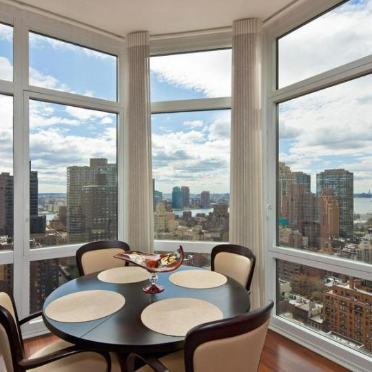 Dining Room at The Milan - Midtown East Condos