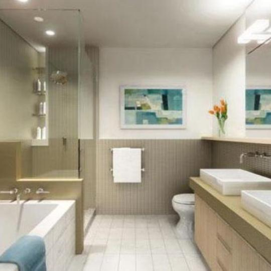 350 West 23rd Street Bathroom - Manhattan New Condos