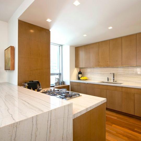 15 West 53rd Street New Construction Condominium Kitchen Area