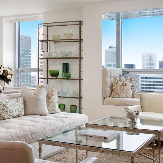 15 West 53rd Street Living Room - Manhattan New Condos