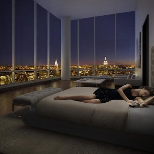 One57 - NYC Condos - Bedroom - 157 West 57th Street Midtown West Apartments for