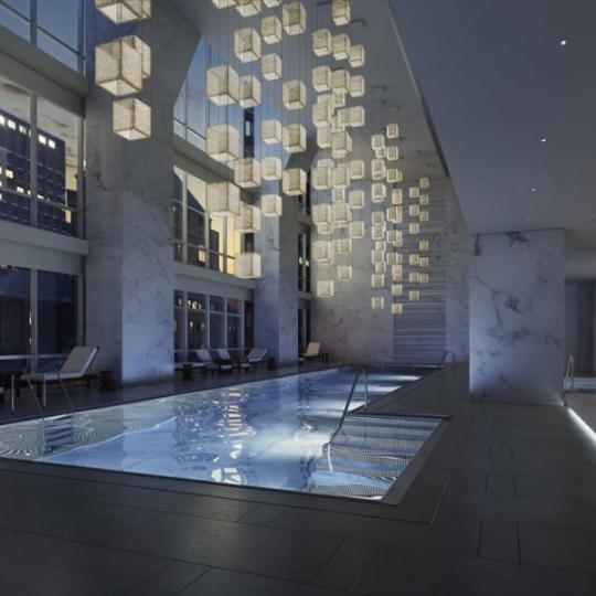 One57 - NYC Condos - Pool - 157 West 57th Street Midtown West Apartments