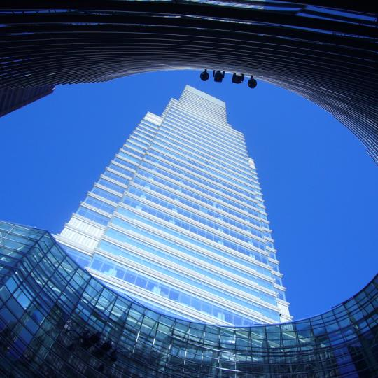 One Beacon Court Bloomberg Tower NYC condos for sale building side