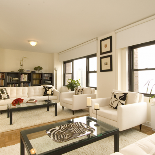 One Lincoln Plaza NYC Condos For Sale Upper West Side Living Room
