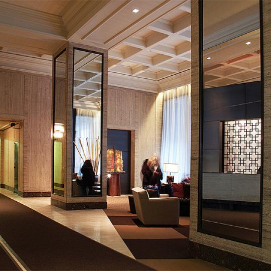 One Lincoln Plaza NYC Condos For Sale Upper West Side Lobby