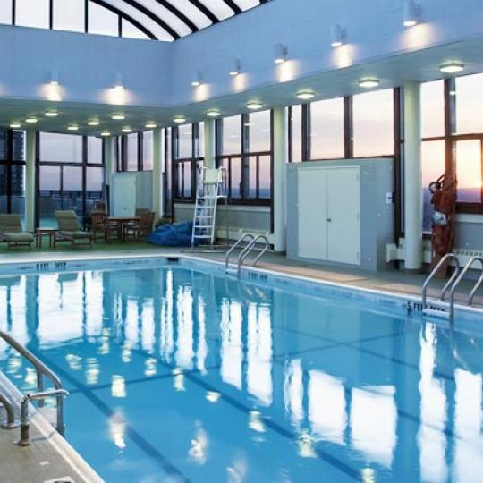 One Lincoln Plaza NYC Condos For Sale Upper West Side Pool