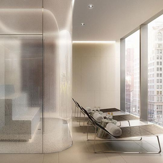 One Madison Park Manhattan Condos - Apartments for Sale in Nomad Steam Room