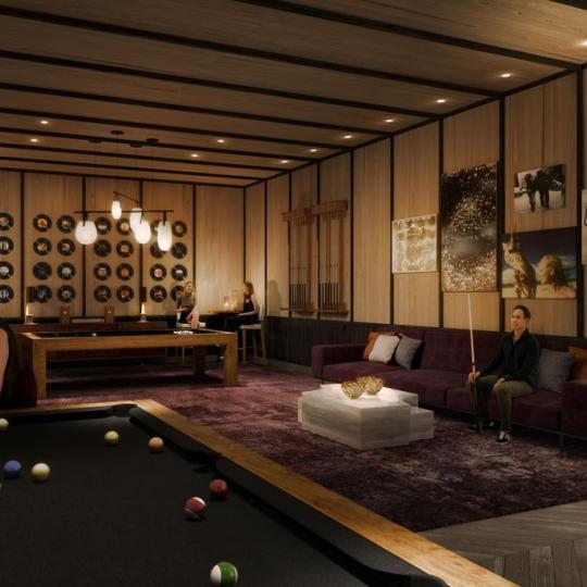Condos for sale at One Manhattan Square in Lower East Side - Game Room