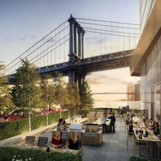 Apartments for sale at One Manhattan Square in Lower East Side - Terrace