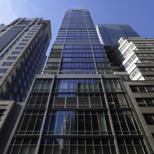 Park Avenue Place Living Room - Manhattan Condos for Sale Building