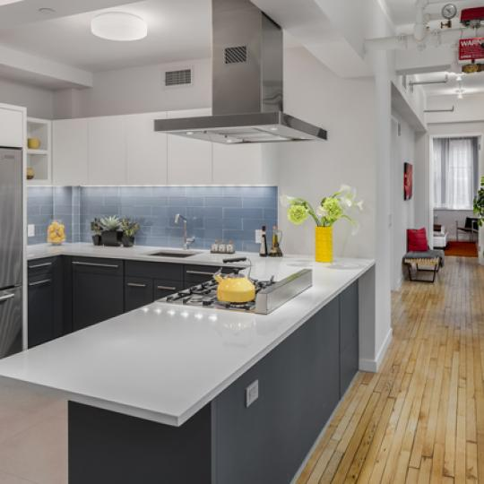 24 West 30th Street Kitchen - Flatiron Condominium