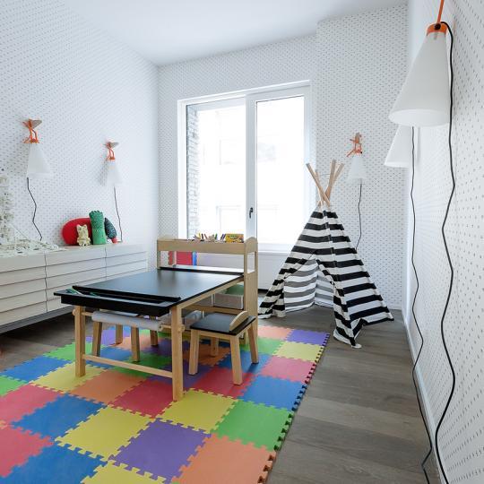 Children's Room at 12 Warren Street - Apartments for sale