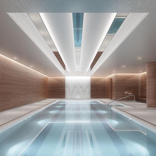 50 West Street- Pool- Manhattan condo for sale