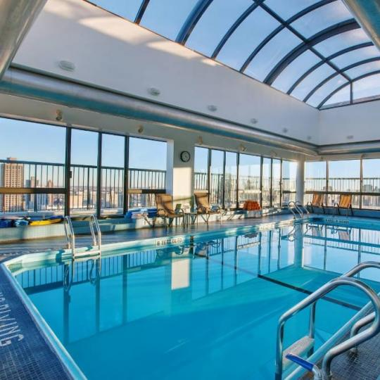 Wide variety of amenities at Evans Tower in NYC - Pool