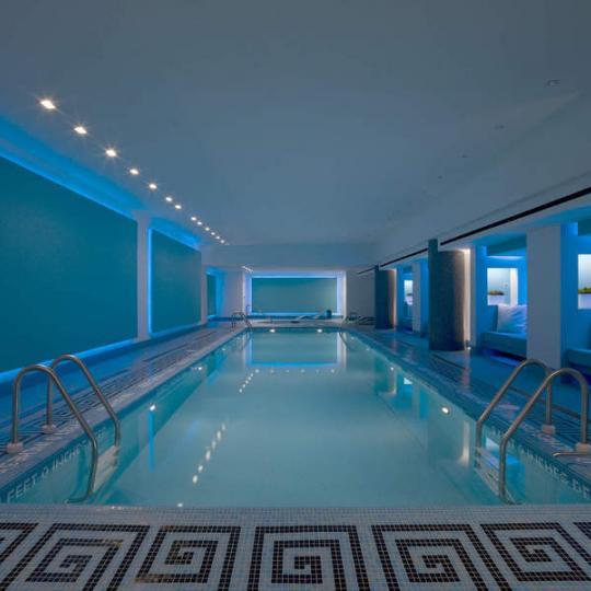 Pool at 15 USW Condominiums - Flatiron District