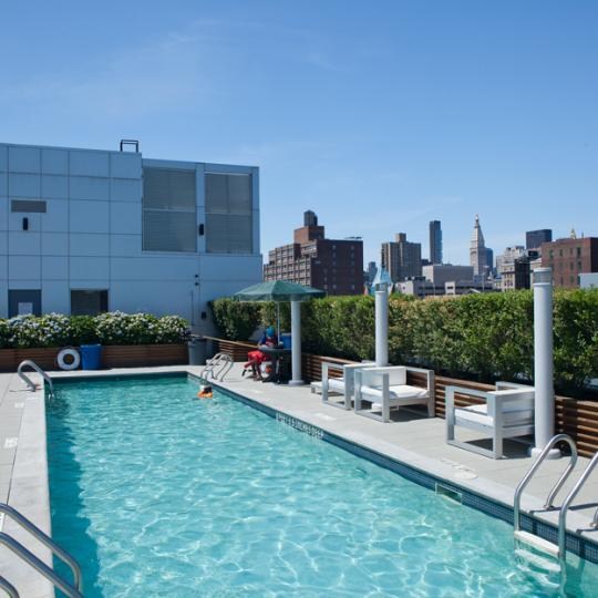 425 East 13th Apartments for Sale in Greenwich Village - pool