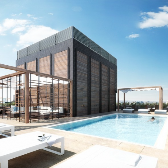 5 Franklin Place Pool – NYC Condos for Sale