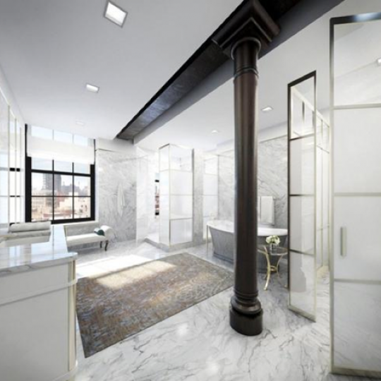 295 Lafayette-Bathroom- Nolita- NYC Condos for Sale