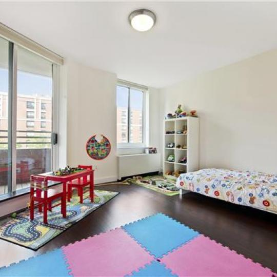 333 Rector Place Children's Bedroom - NYC Condos for Sale