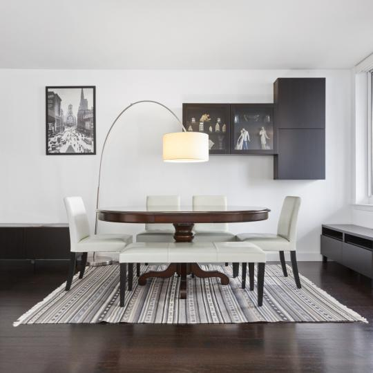 333 Rector Place Dining Area - NYC Condos for Sale
