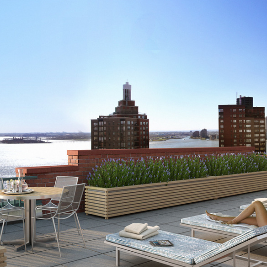 225 Rector Place View - NYC Condominiums