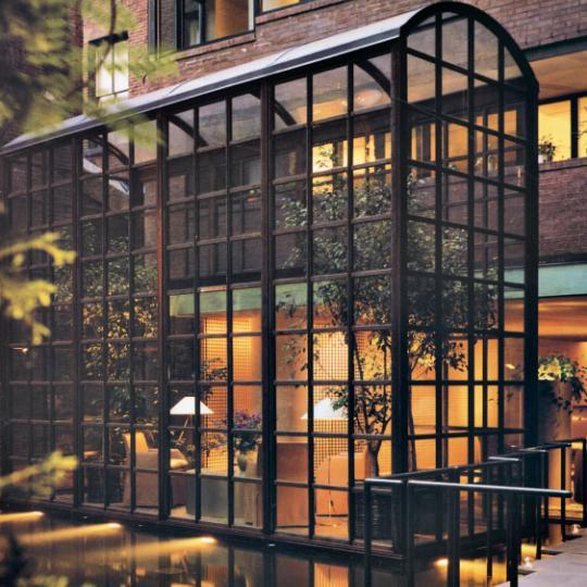 Morgan Court Reflecting Pool - Murray Hill NYC Condominiums