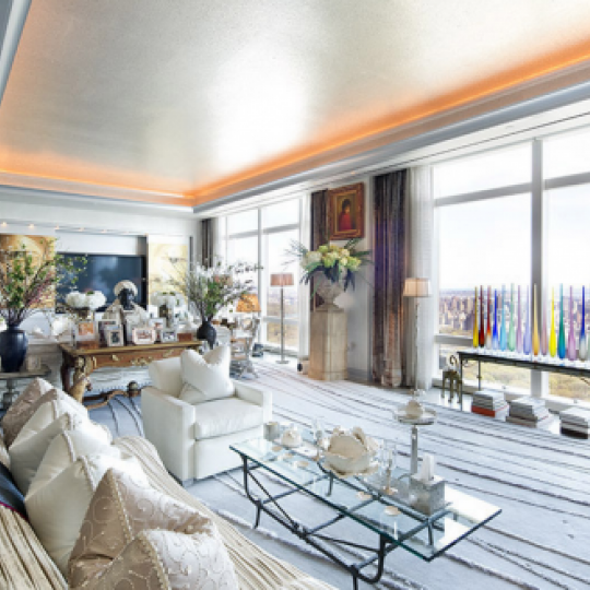 Residences at Mandarin Oriental NYC Condos - Apartments for Sale NYC Living Room