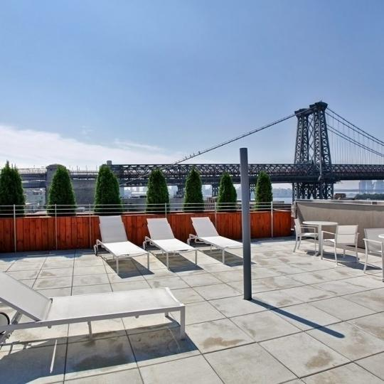 Rooftop Deck with view- 29 South 3rd Street- condo for sale in NYC