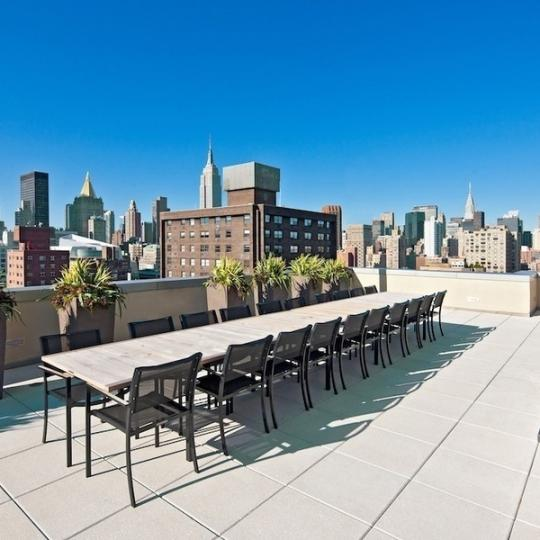 Tempo Rooftop Deck Lounge - Manhattan New Condos