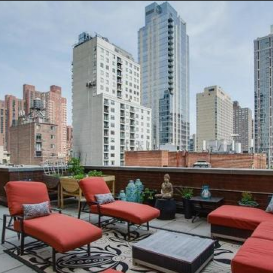 Century Tower roof terrace - NYC condos for sale