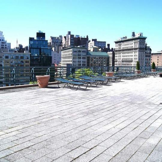 Condos for sale at Zeckendorf Towers in NYC - Rooftop