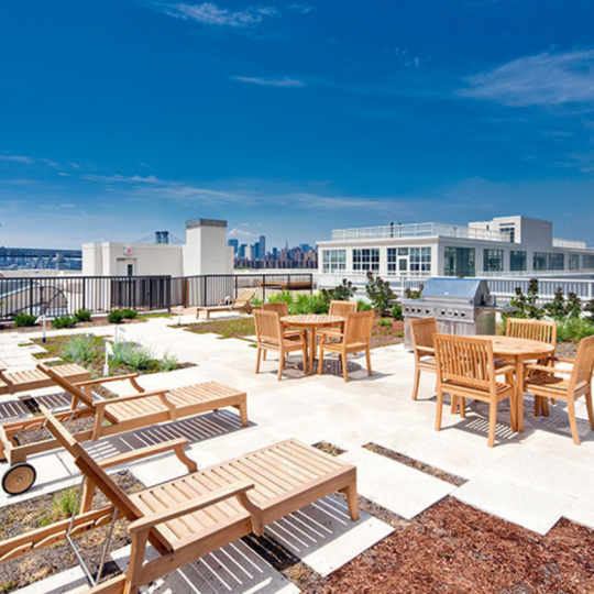 Condos for sale at 184 Kent Avenue in Brooklyn - Rooftop Deck